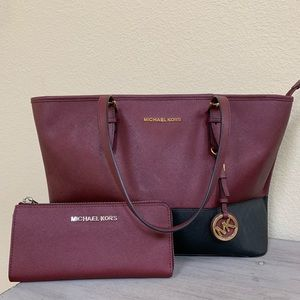 Michael Kors Handbag + Michael Kors Wallet